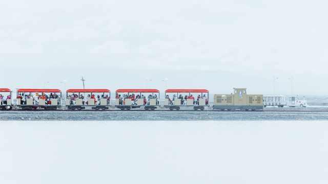 狂赞!中国茶卡盐湖被日本节目报道