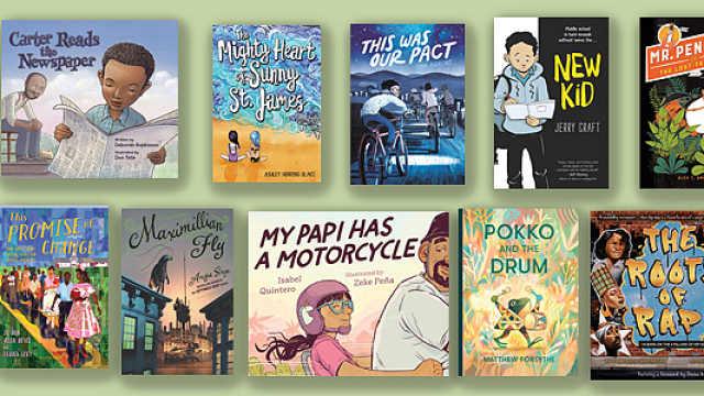 纽约公共图书馆评选2019年十大童书