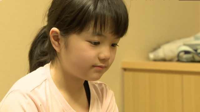 天才!10岁女棋手战胜71岁职业九段