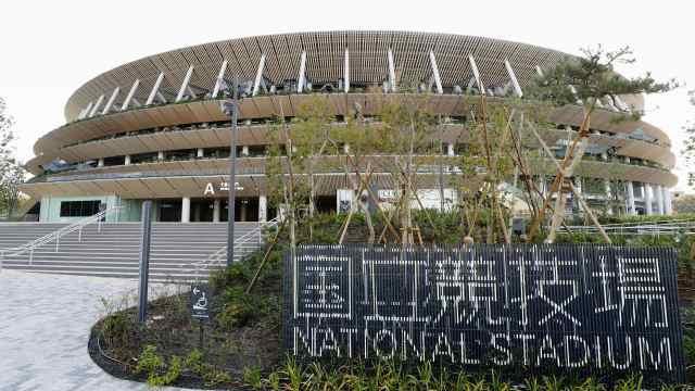 耗1569亿日元!东京奥运主场馆竣工