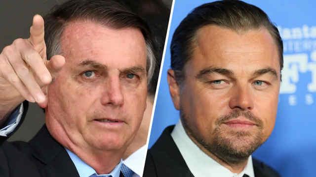 巴西总统炮轰小李子花钱火烧亚马逊
