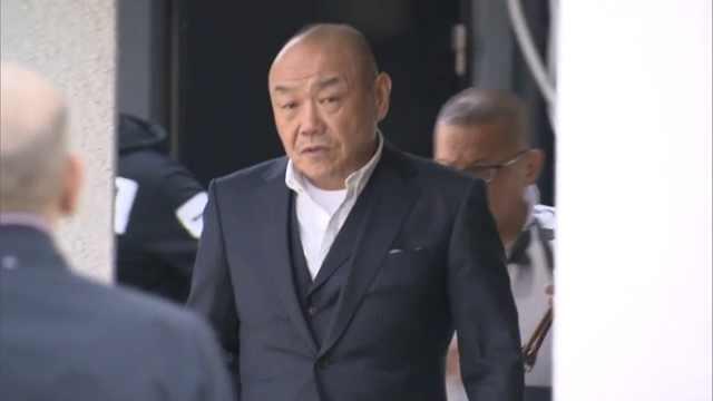 日本黑帮核心人物因射杀对手被捕