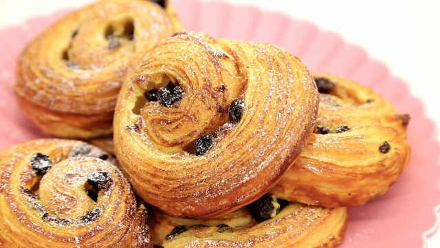 法式葡萄酥卷:家庭简易开酥法