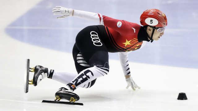 意外重重!武大靖500米决赛获银牌