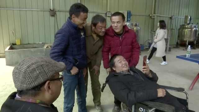 他高位截瘫后创业,吸纳残疾人就业