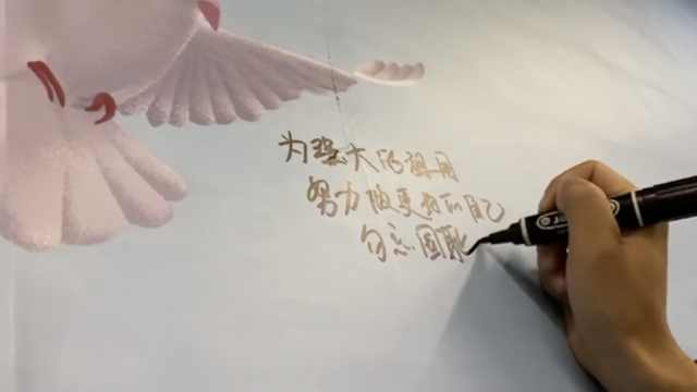 国家公祭日,许愿墙上写满珍爱和平