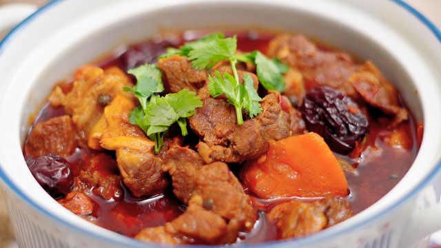 红焖羊肉,肉嫩鲜香又暖胃!