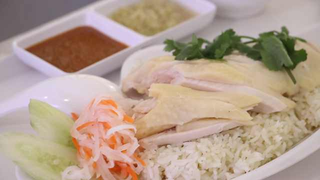 退休大厨回国做泰式海南鸡饭:要把美食分享给更多人
