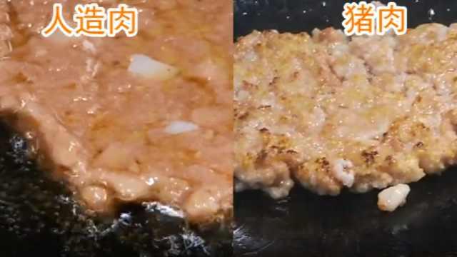 60元一斤的人造肉能代替真猪肉吗?