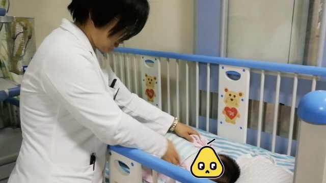 80天男婴吐血瘫软,医生诊断脑出血
