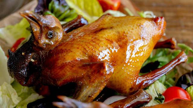 教你在家做粤式烤乳鸽