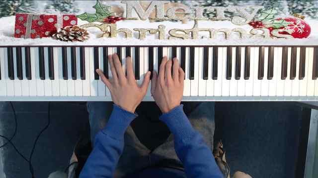 陈奕迅《圣诞结》钢琴即兴弹唱