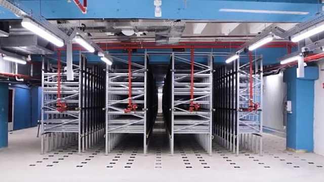 首个地下微型自动化配送中心来啦!