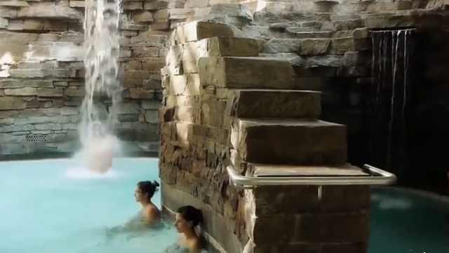 洗澡要三小时16道工序的罗马式汤浴