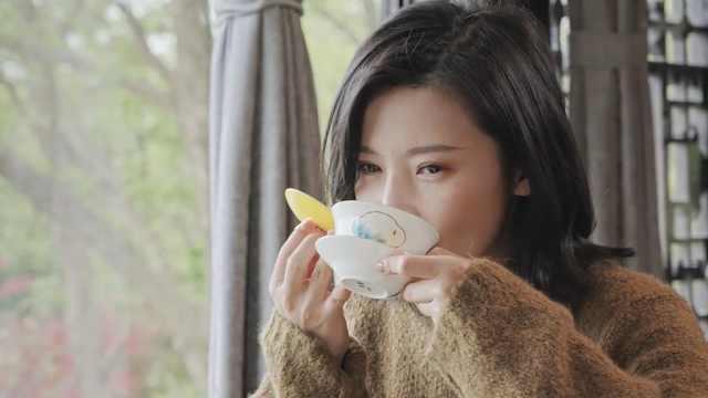 杨子姗美食之都品扬州早茶