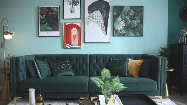 小夫妻公寓里的绿野仙踪