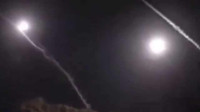 伊朗媒体流出导弹发射和着陆画面