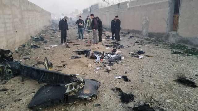 现场画面曝光!乌克兰客机伊朗坠毁