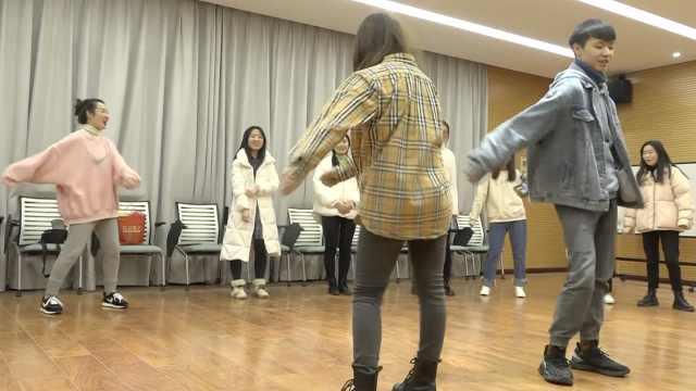期末减压神器!美女老师带学生跳舞