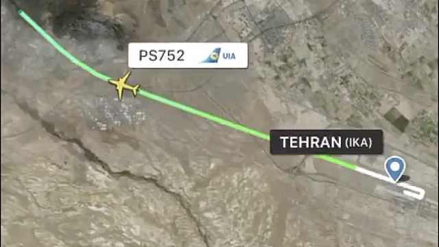 最后通讯中,乌克兰客机被要求转弯