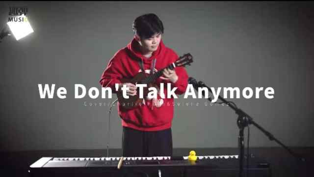 《We Don't Talk Anymore》演奏