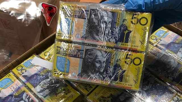 春节临近,澳洲发现大量澳元冥币