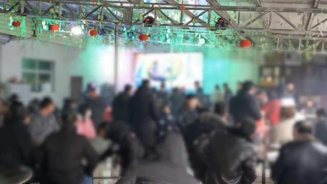 农村生日宴50人聚集,大多不戴口罩