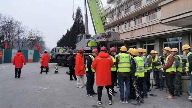 北京小汤山康复医院启用:约500床位