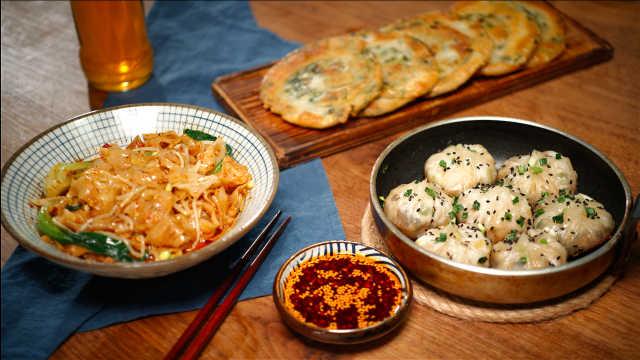 宅在家吃什么?来一场饺子皮盛宴!