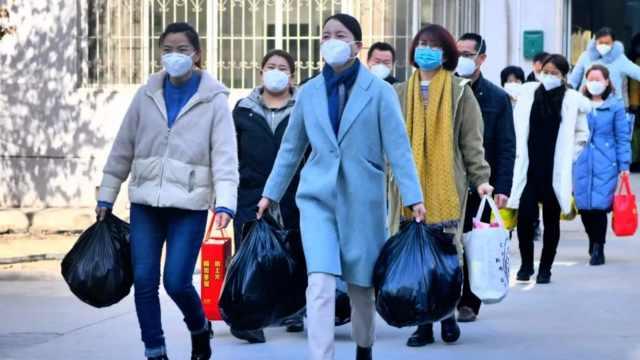 辛苦!宁夏首批30医护撤出抗疫一线