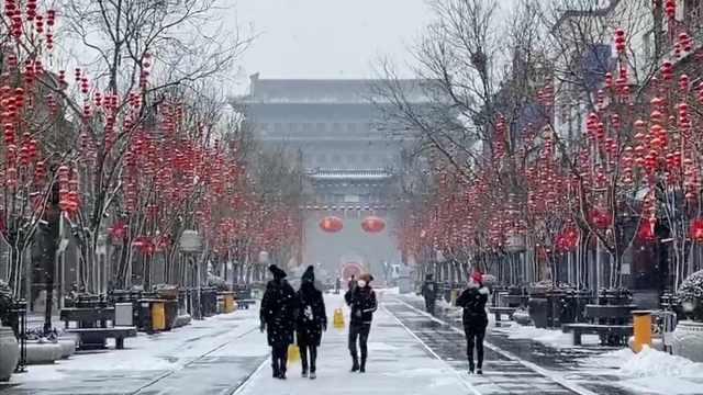 北京再迎雪,专家:气温将连续起伏