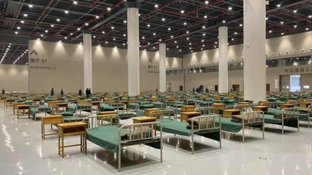 武汉再建8座方舱医院,床位增至过万