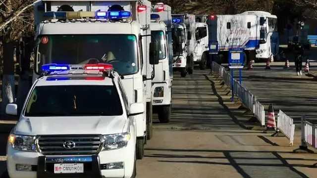 辽宁省国家紧急医学救援队驰援湖北