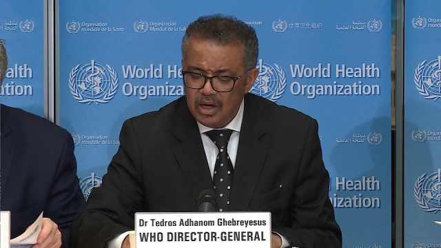 世卫呼吁各国将抗疫当做首要任务