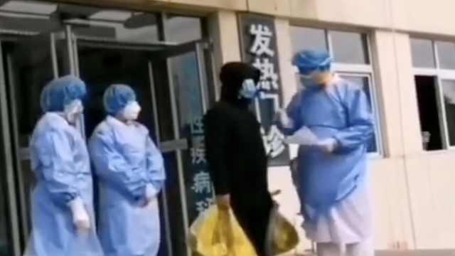潍坊张某芳出院,被移交公安机关