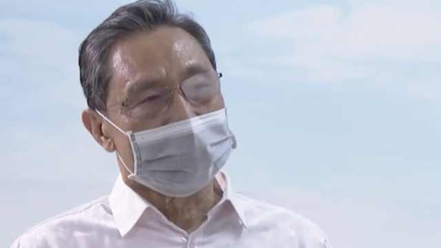 钟南山:疫情高峰或在2月中下旬