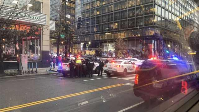 华盛顿市中心发生枪击案,2人重伤