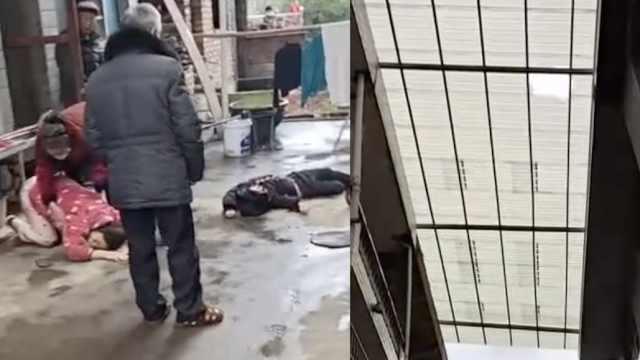 悲剧!父亲拉爬上雨棚孩子:两人坠楼