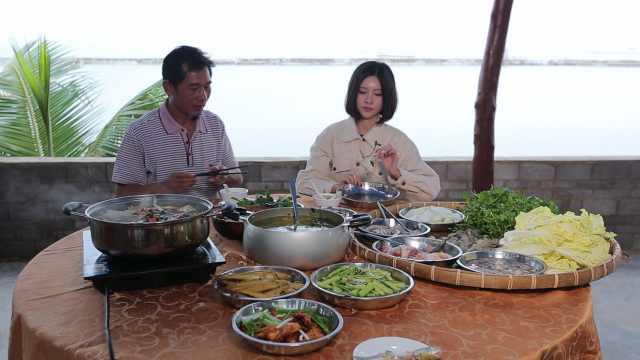 湛江之行!扫荡一桌海鲜大餐