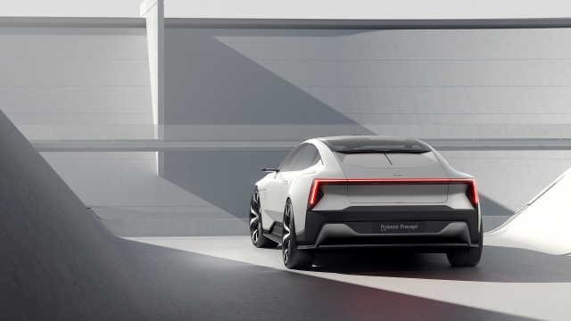 豪华纯电动车的未来:极星 Precept