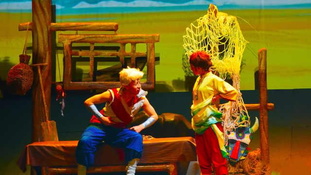 丑小鸭儿童剧《老人与海》精彩预告