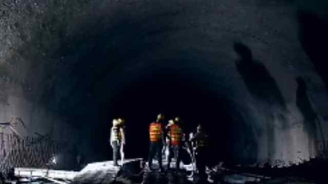 贵州第一长隧——桐梓隧道复工