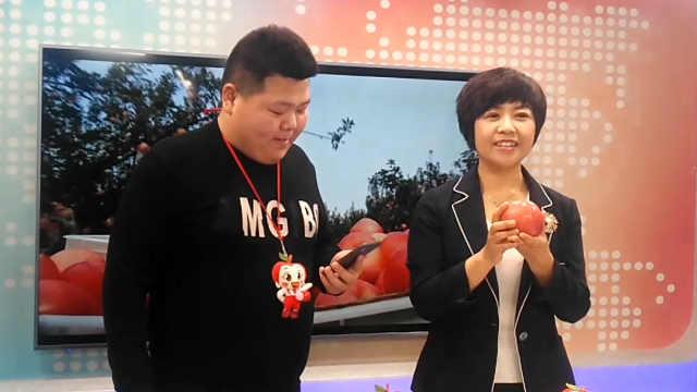 副县长直播卖苹果,5小时卖10万斤