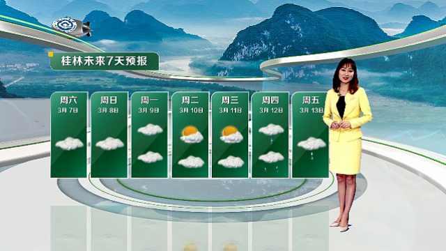 未来一周气温偏高,雨量偏多