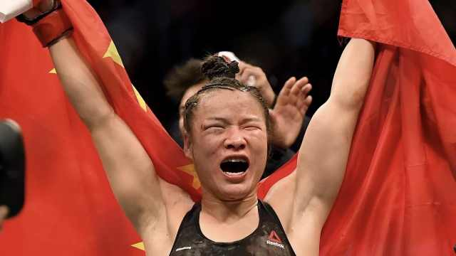 张伟丽成功卫冕:祝祖国战胜疫情