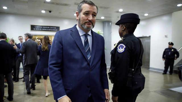 与确诊者有接触,美国参议员遭隔离