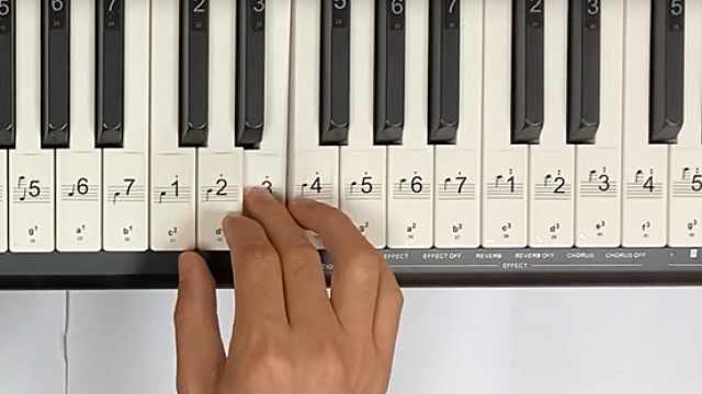钢琴教学:《爱的罗曼史》片段