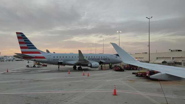 美国航空飞行员确诊新冠肺炎,未公布最近飞行路线