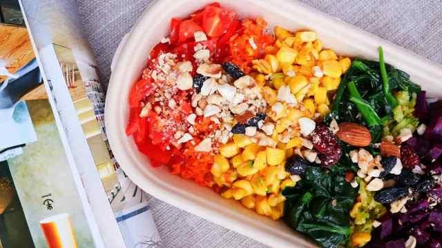 素食分享人林真心丨便当,让工作餐有了仪式感