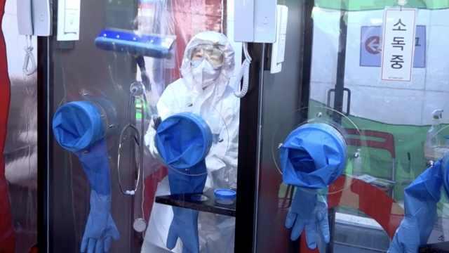 车内采样大受好评,韩国又增电话亭式检测采样:1人1间防感染